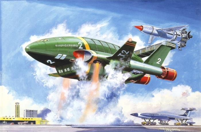 Thunderbird 2 by Shigeru Komatsuzaki